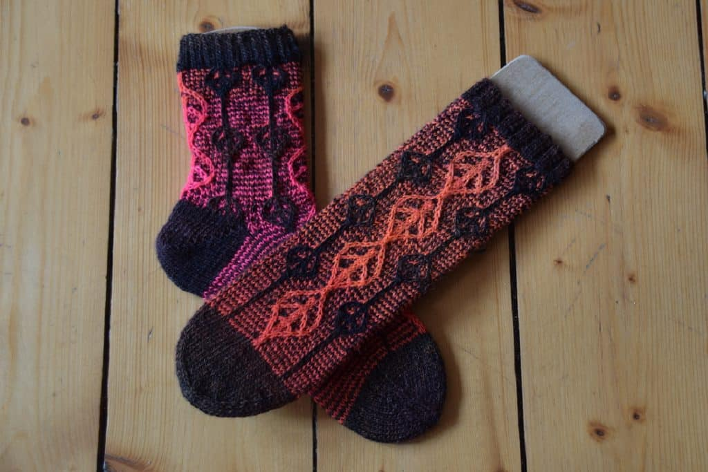 Sockenmuster Plagula - JRusch Blog