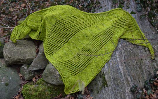Das Grüne Tuch stricken