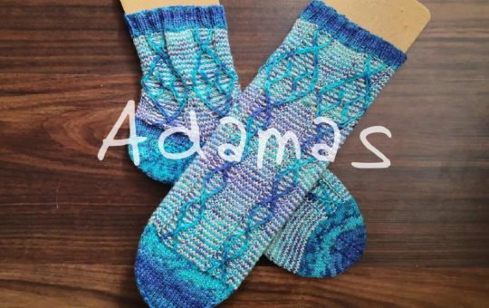 Sockenmuster Adamas