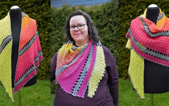 """Crochet Along zum Dreieckstuch """"Varus"""""""